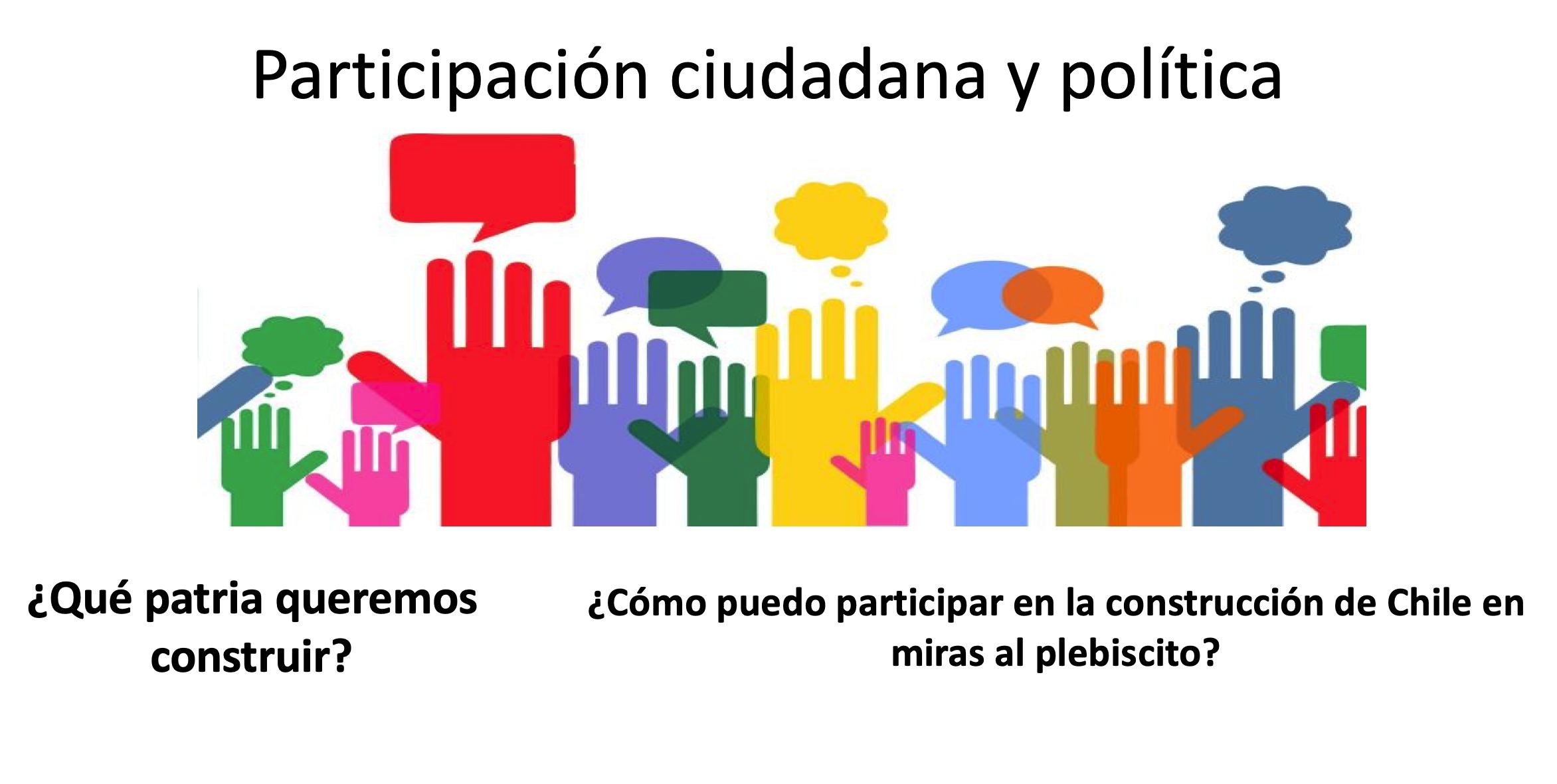 Participación ciudadana y política